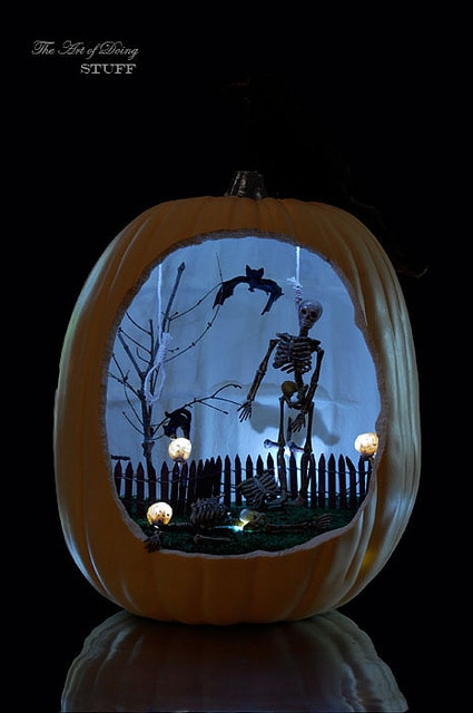 Pumpkin Diorama 3