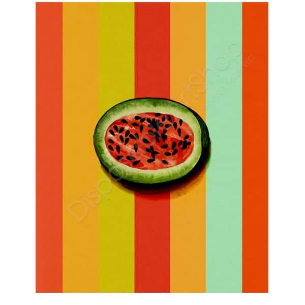 RetroWatermelon_listing_DisposableArtShop_1024x1024
