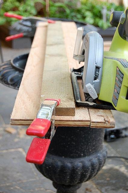 Straight Edge clamp