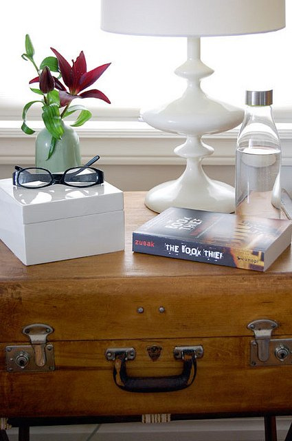 Suitcase Bedside Table 2