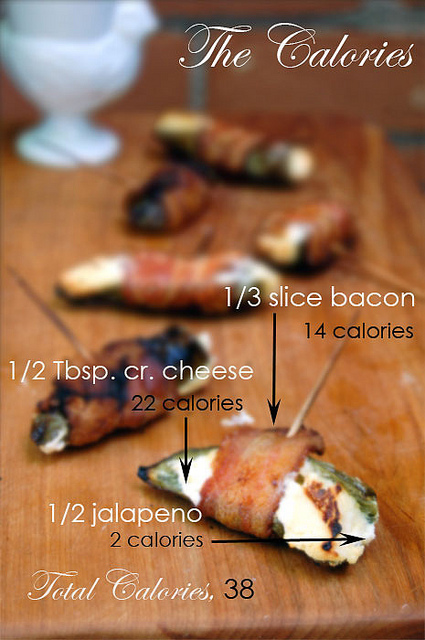 The Calories In A- Jalapeno Popper