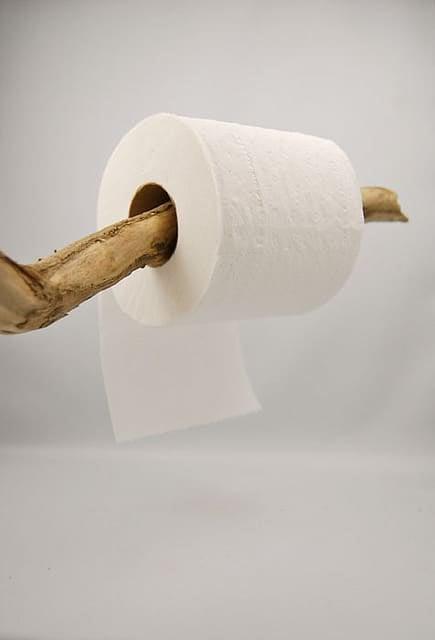 Toilet Paper Under