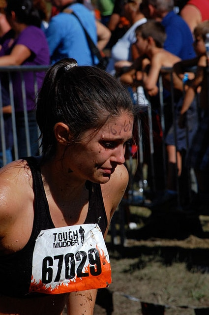 Tough Mudder Crying