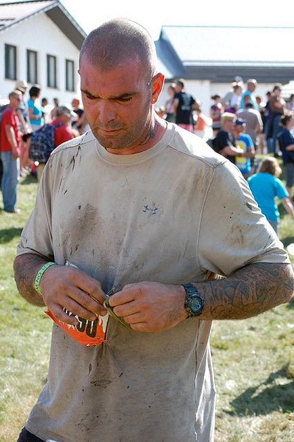 Tough Mudder Fella Finish