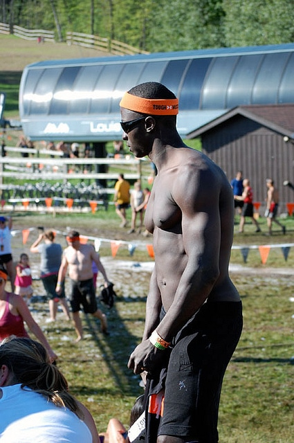Tough Mudder Guy