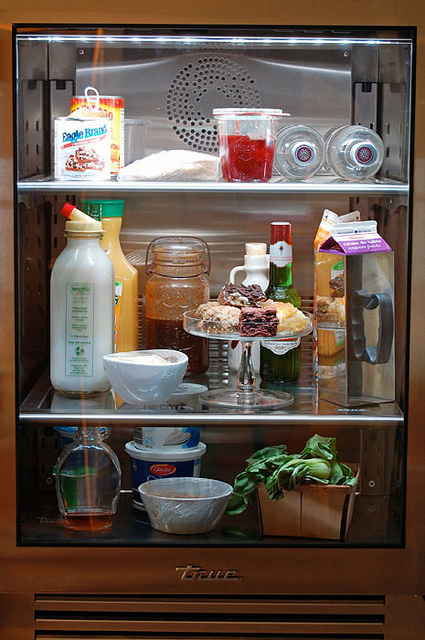 True Glass Front Fridge 2