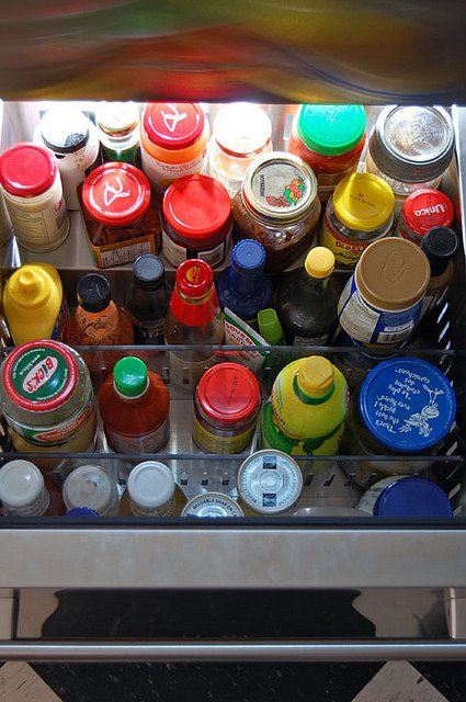 True Refrigerator Drawer Condiments