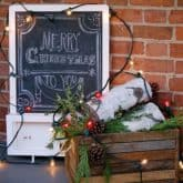 More Outdoor Christmas Decorating Ideas! Classic VS Pinterest.