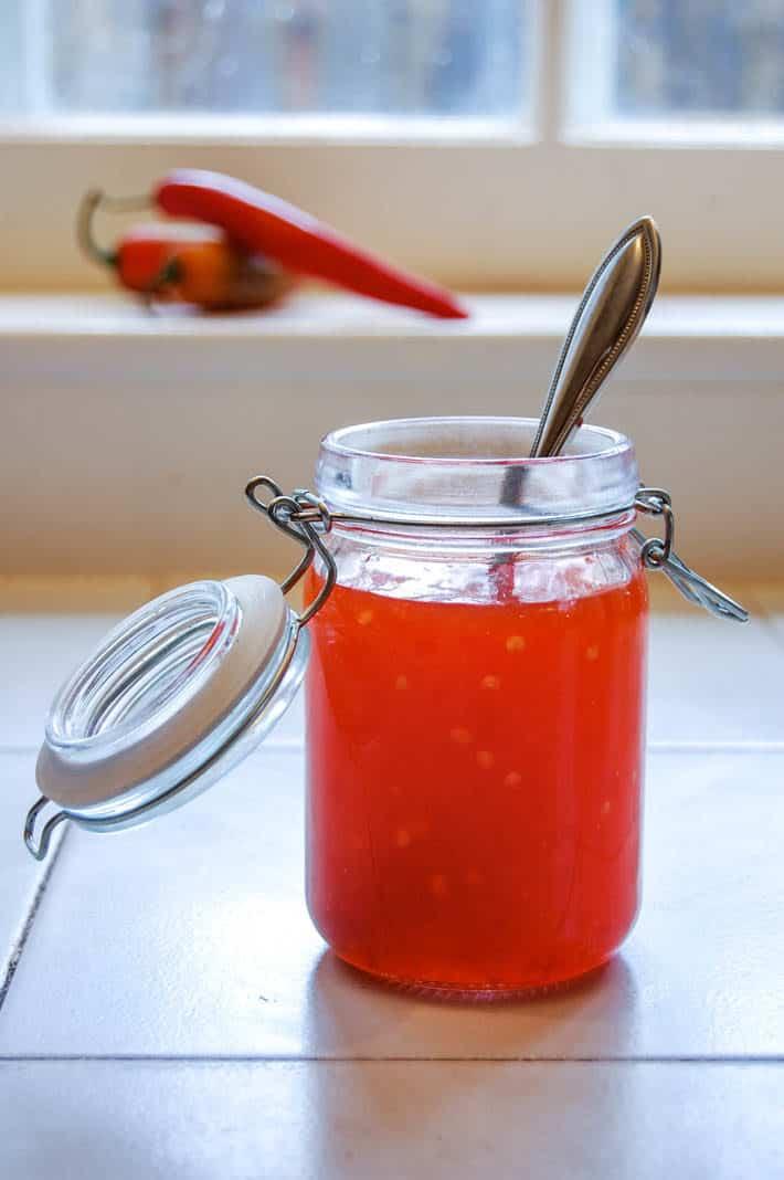 Sweet Thai Chili Saucewith Some Kick The Art Of Doing Stuff