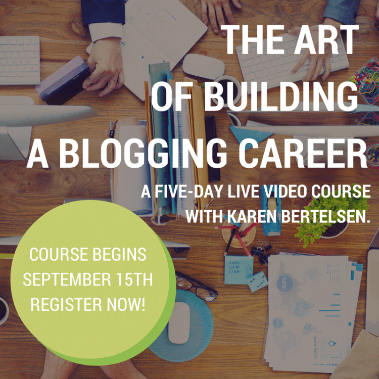 Live video course with Karen Bertelsen