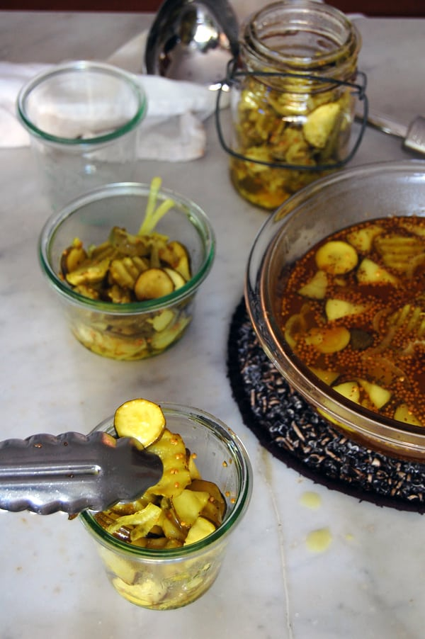 bread and butter pickle recipe