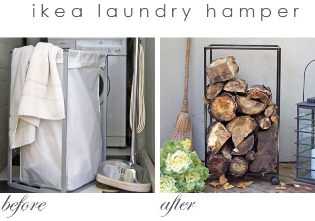 before-and-after-ikea-laundry-hamper-hack