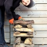 How to Stack Wood. With or Without a Rack.