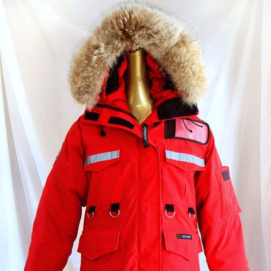 can you ski in canada goose jacket
