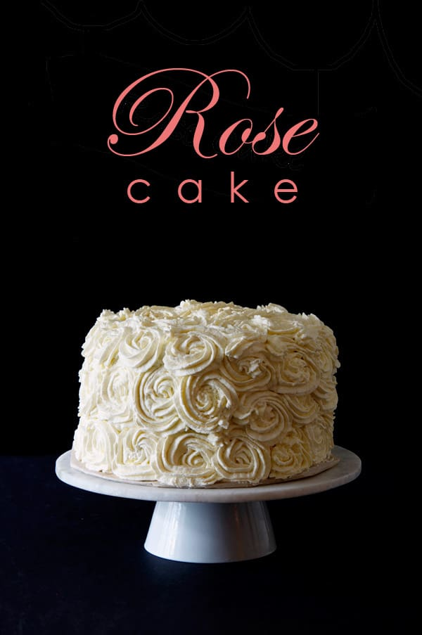 Rose Cake. Easy & Impressive. | The Art of Doing StuffThe Art of ...