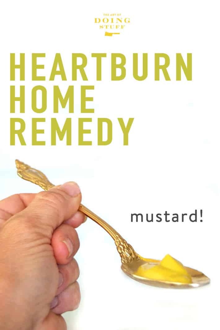 How to Get Rid of Heartburn. An Instant Home Remedy.