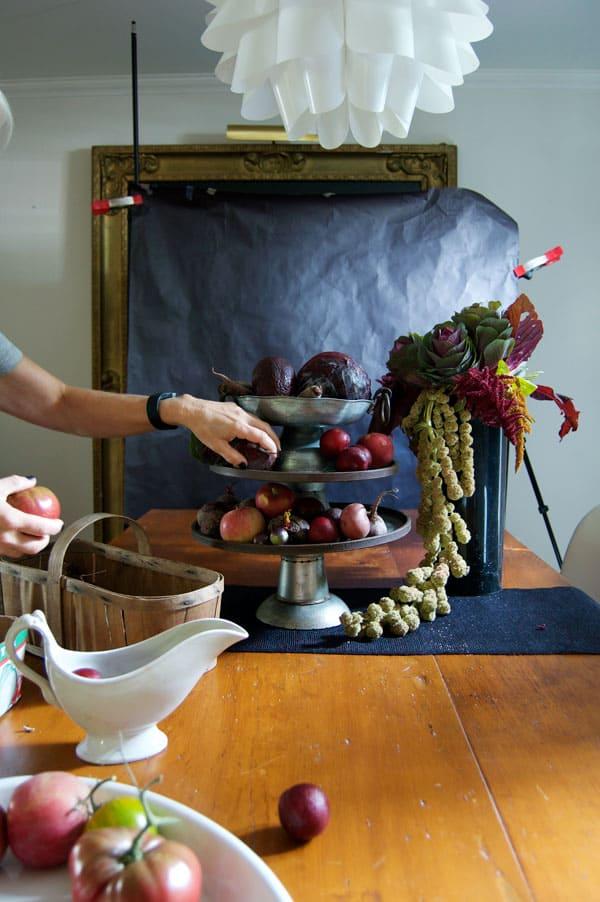 thanksgiving-vegetable-arrangement