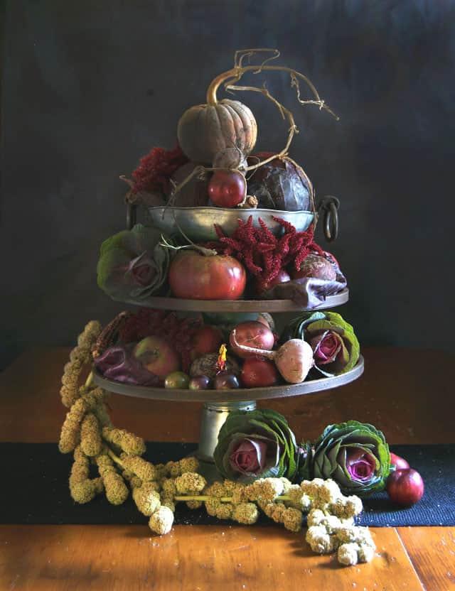 vegetable-arrangement-thanksgiving
