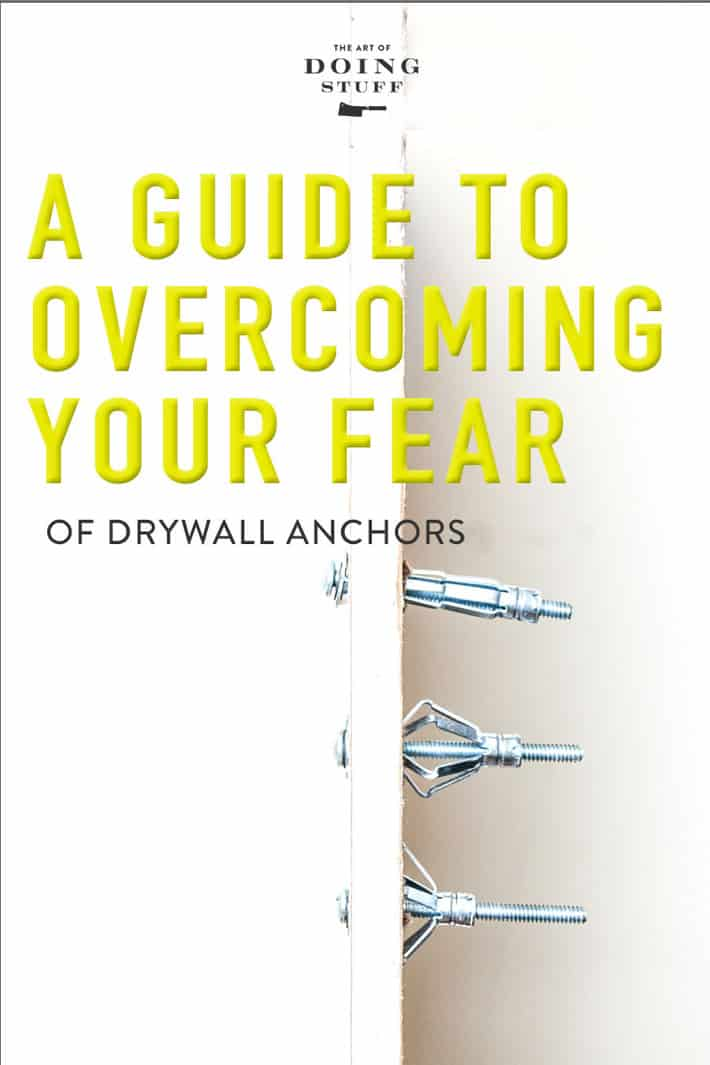 THE ONLY DRYWALL ANCHOR YOU SHOULD EVER USE