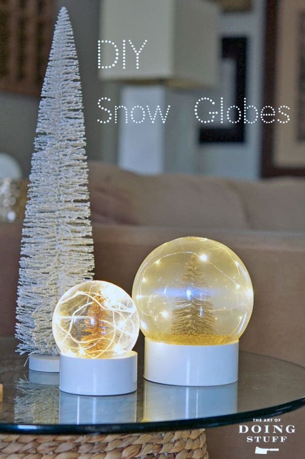 MAKE YOUR OWN REAL SNOW GLOBE. | The Art of Doing StuffThe ...
