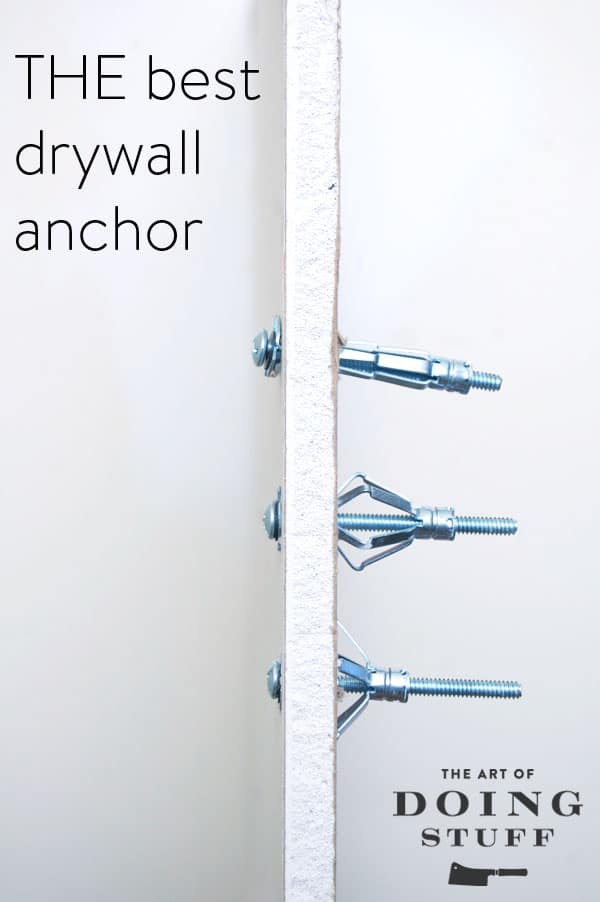 THE ONLY DRYWALL ANCHOR YOU SHOULD EVER USE | The Art of