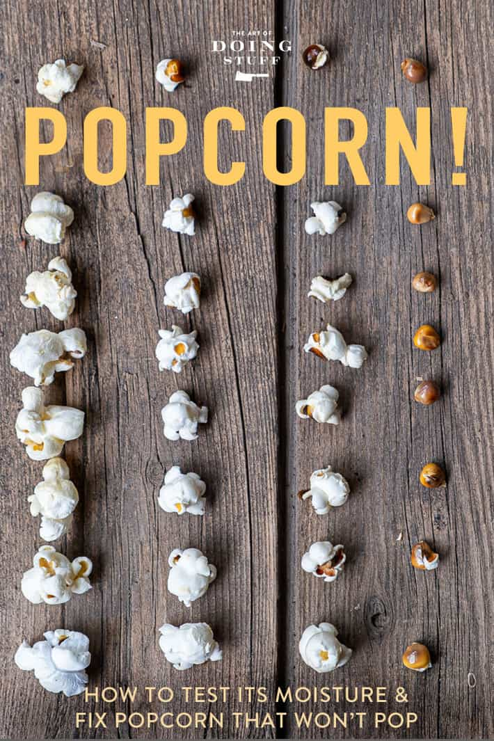 Popcorn Not Popping? Why & How to Fix it.