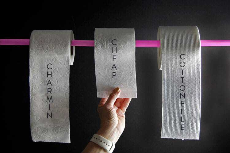 THE BRAND OF TOILET PAPER YOU SHOULD NEVER USE  | The Art of Doing