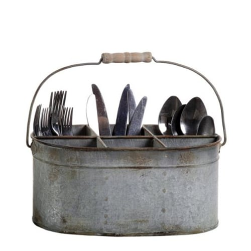 Rustic Cutlery Holder