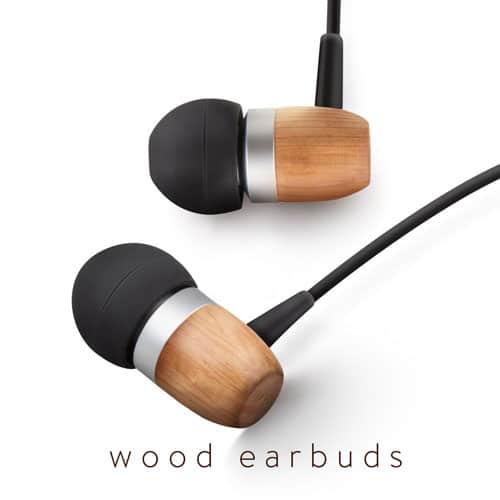 Wood Earbuds