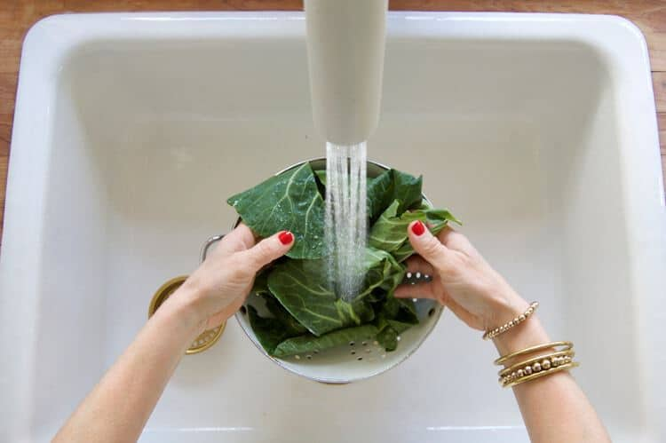 Washing-Greens