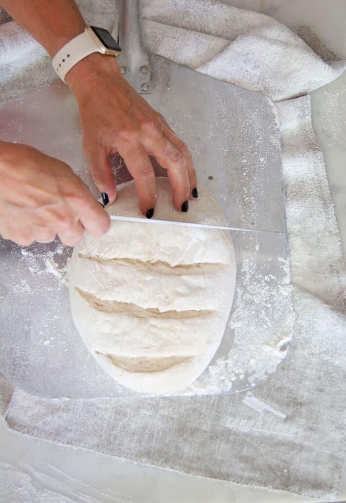 slashing-bread