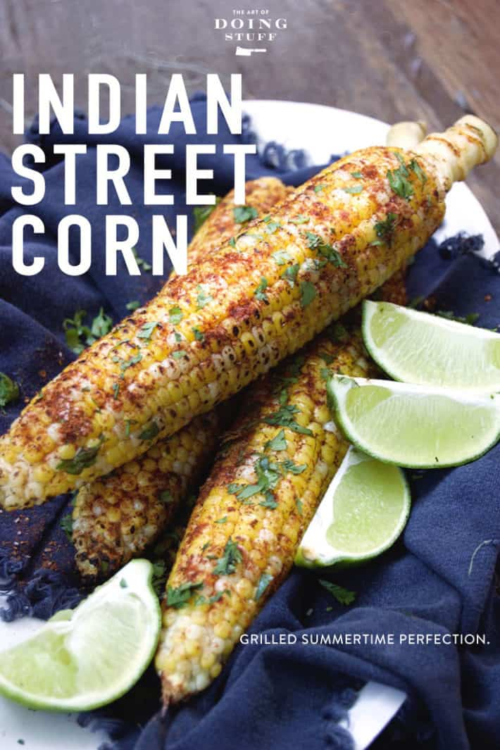 KICK YOUR PLAIN CORN TO THE CURB. TRY INDIAN STREET CORN!