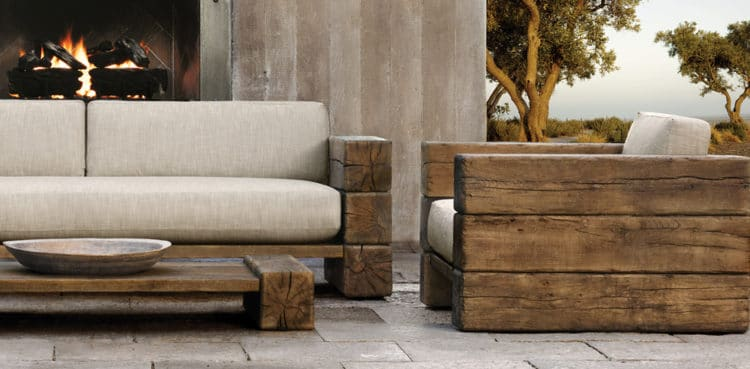 Diy Outdoor Furniture Hacking Restoration Hardware The Art Of