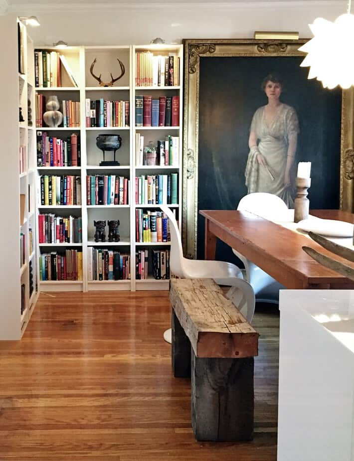 dining-room-billy-bookcases