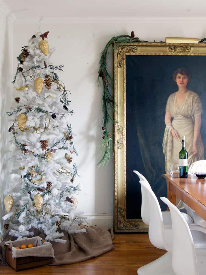 dining-room-white-tree