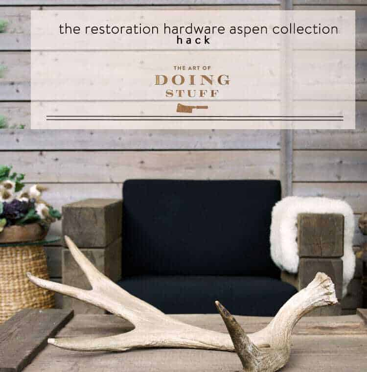 Diy restoration hardware aspen collection revealed the art of to those of you who emailed is it done to those of you who asked did it work to those of you who commented will we ever see it solutioingenieria Choice Image