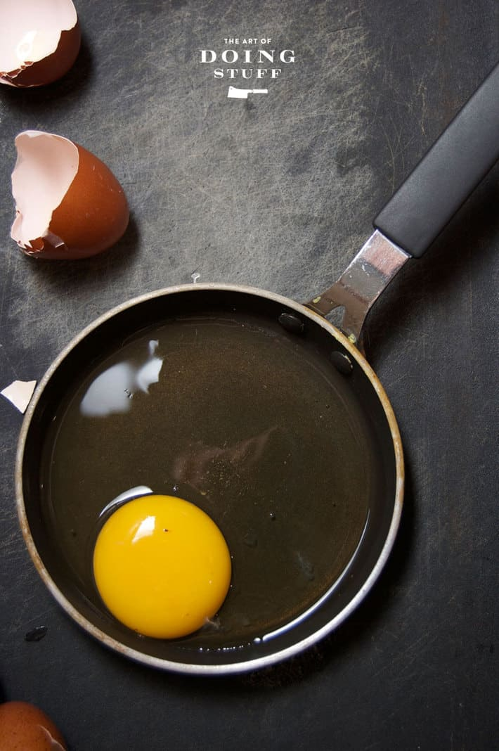big-yolk-in-pan