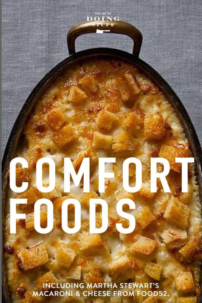 Comfort Foods to Get Us Through Winter.