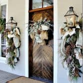 OUTDOOR CHRISTMAS DECORATING INSPIRATION. Day 18 of the Christmas Pledge.