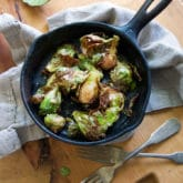 The World's Best Brussels Sprouts Recipe.