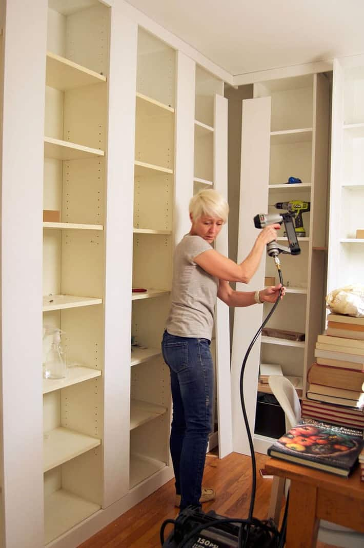 Billy bookcases the built ins
