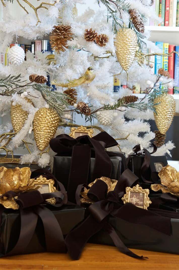 black-gifts-under-tree