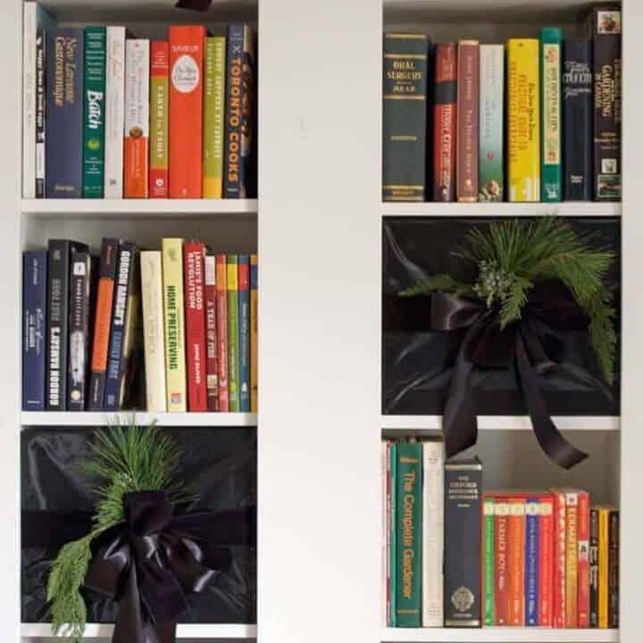 Fake Bookcase Presents