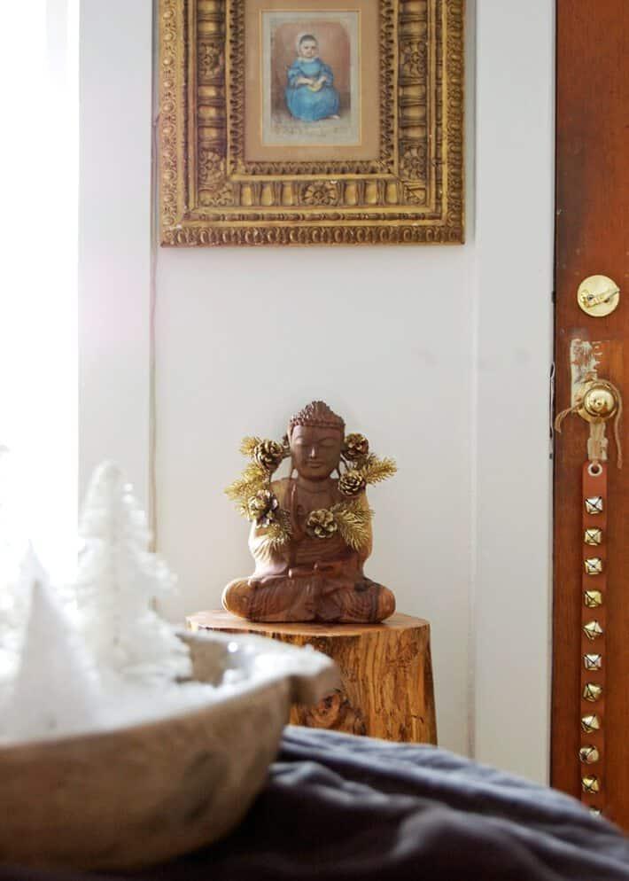 christmas buddha