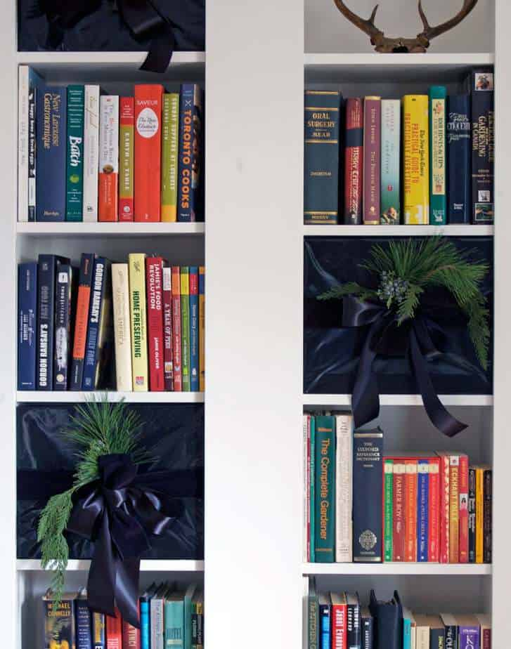 gifts-in-bookcase