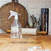 SO. THAT SPRAY ON CHANDELIER CLEANER. DOES IT WORK?