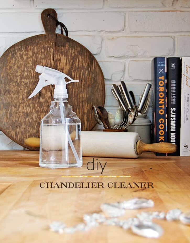So that spray on chandelier cleaner does it work the art of chandelier cleaner diy 1 aloadofball Image collections