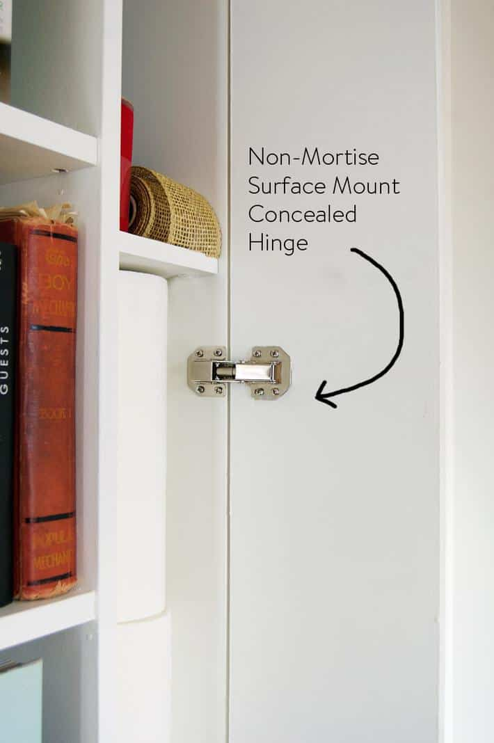 non-morise-concealed-hinge