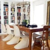 MY LIBRARY & DINING ROOM REVEAL. PLUS ITS SECRET SURPRISE.