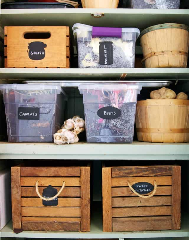 Easy ways to reduce waste save money and generally be for Mudroom pantry